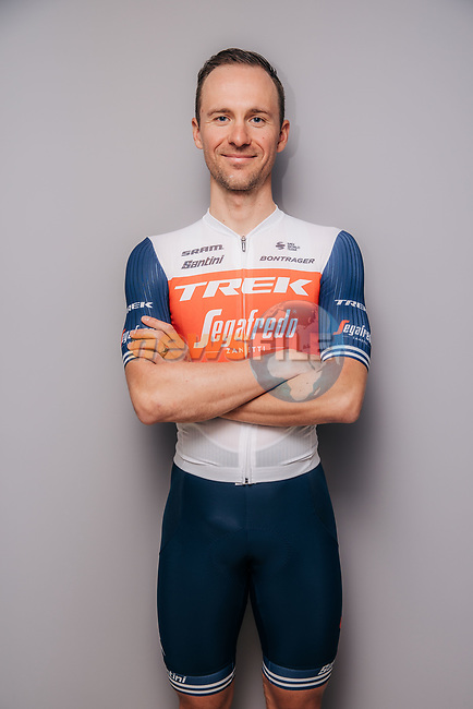 Edward Theuns (BEL) part of the Trek–Segafredo 2021 mens team.<br /> Picture: Jojo Harper/Trek Factory Racing | Cyclefile<br /> <br /> All photos usage must carry mandatory copyright credit (© Cyclefile | Jojo Harper/Trek Factory Racing)
