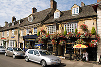 The Angel Pub on Main Street, Witney, England