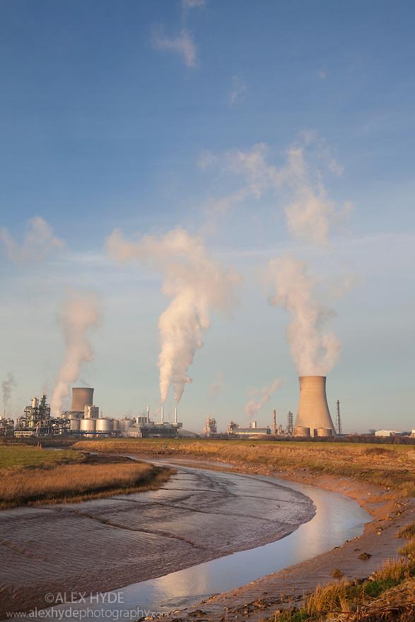 Saltend Chemical Plant, Kingston upon Hull, East Yorkshire, England, UK.