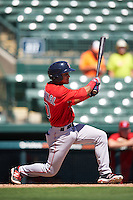 Boston Red Sox Santiago Espinal (10) during an Instructional League game against the Baltimore Orioles on September 22, 2016 at the Ed Smith Stadium in Sarasota, Florida.  (Mike Janes/Four Seam Images)