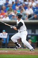 Quad Cities River Bandits left fielder Pat Porter (31) at bat during a game against the Bowling Green Hot Rods on July 24, 2016 at Modern Woodmen Park in Davenport, Iowa.  Quad Cities defeated Bowling Green 6-5.  (Mike Janes/Four Seam Images)