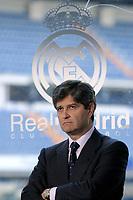 MADRID, ESPANA;01/03/06.- Primer día en su nuevo cargo y primer acto oficial de Fernando Martín: la presentación de la primera Escuela de Estudios Universitarios Real Madrid-UEM. <br /> FOTO: JUAN CARLOS ROJAS