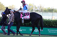 1st May 2021; Kentucky, USA;  John Velasquez aboard Medina Spirit (8) is congratulated by trainer Bob Baffert after winning the 147th Running of the Kentucky Derby on May 1, 2021 at Churchill Downs in Louisville, Kentucky.