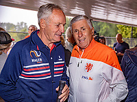 Oldenzaal, Netherlands, August 15, 2019, TC Ready, Old Stars Program with  Tom Okker and Sjaak Swart<br /> Photo: Tennisimages/Henk Koster