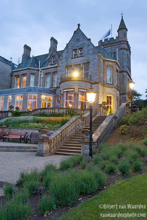 Evening at the 5 star Culloden Spa and Resort in Belfast.