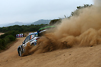 6th June 2021; Olbia, Sardinia, Italy; WRC Rally of Sardegna, final day; Stages SS17-SS20;  T Sunninen-Ford Fiesta WRC