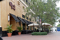 LAS OLAS, FL - MARCH 19: The quiet before the storm. Normally the affluent town of Las Olas is buzzing with restaurant and shops today it's all but a ghost town as people hunker down and prepare for the COVID-19 virus on March 19, 2020 in LAs Olas, Florida.<br /> <br /> <br /> People:  COVID-19