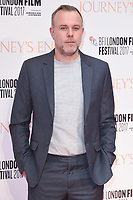 """director, Saul Dibb<br /> arriving for the London Film Festival 2017 screening of """"Journey's End"""" at the Odeon Leicester Square, London<br /> <br /> <br /> ©Ash Knotek  D3320  06/10/2017"""