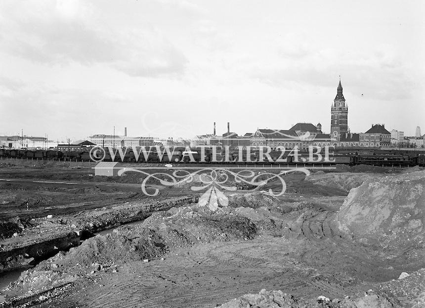 Februari 1965. Zuidstation in  Antwerpen.