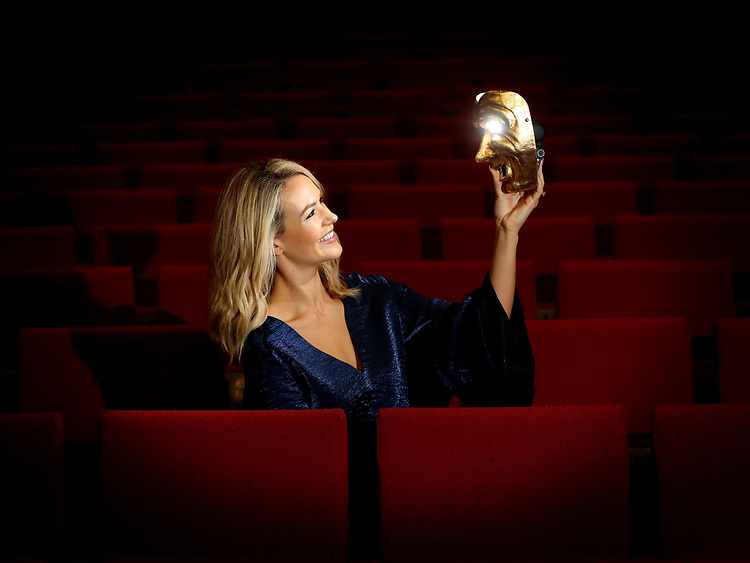 Irish Actress Aoibhín Garrihy, pictured in the Bord Gais Energy Theatre.