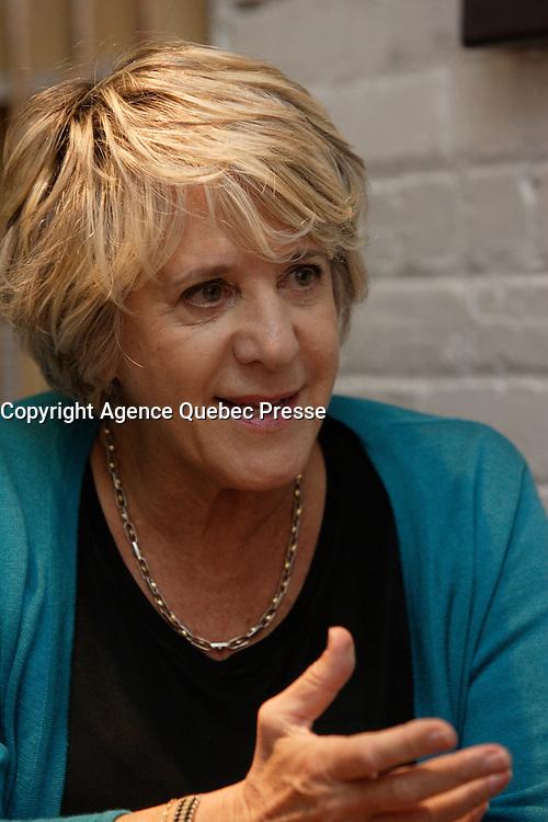 Montreal (Qc) CANADA - April 2012 File Photo - Denise Bombardier