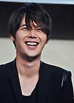 Jihyuk(Choshinsung, Supernova), Aug 30, 2013 : Tokyo, Japan : Jihyuk of Korean boy band Supernova attends a press conference for new promotion video of Lotte Duty Free shop in Tokyo, Japan, on August 30, 2013.