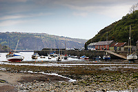 General view of the Lower Town of Fishguard