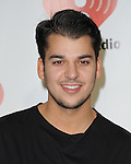 Rob Kardashian at The iHeartRadio Music Festival held at The MGM Grand in Las Vegas, California on September 24,2011                                                                               © 2011 DVS / Hollywood Press Agency