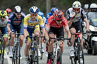 Diego Rosa (ITA/Arkéa-Samsic)<br /> <br /> 85th La Flèche Wallonne 2021 (1.UWT)<br /> 1 day race from Charleroi to the Mur de Huy (BEL): 194km<br /> <br /> ©kramon