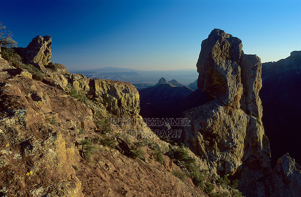 View from Lost Mine Peak, Big Bend National Park,Texas, USA