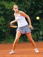18-08-10, Tennis, Amstelveen, NTK, Nationale Tennis Kampioenschappen, Esther Vermeulen