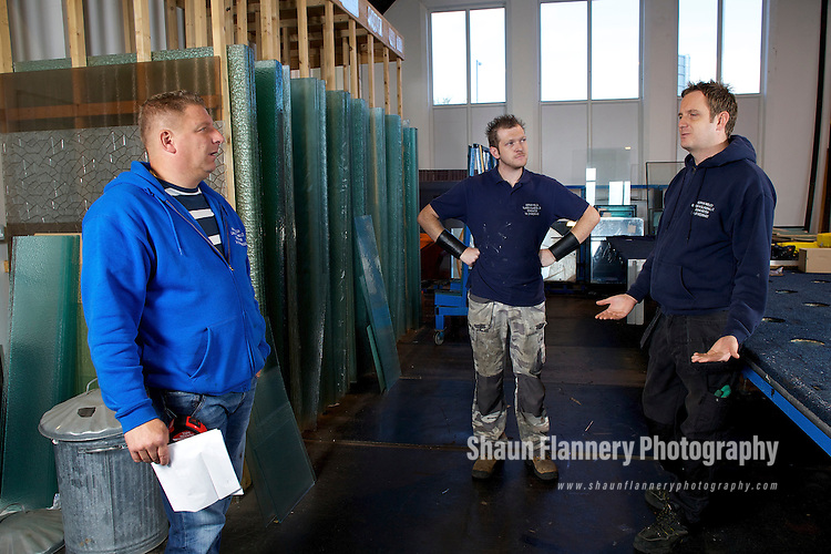 Pix: Shaun Flannery/shaunflanneryphotography.com...COPYRIGHT PICTURE>>SHAUN FLANNERY>01302-570814>>07778315553>>..14th September 2010..........Adrian Welch Glass and Glazing Ltd, The Glass House, Carr Lane, Doncaster, DN4 5AA.