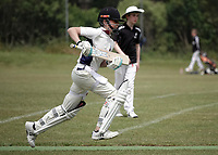 Action from the Wellington junior cricket year 7 match between Karori Keas and Eastern Suburbs Moreporks at Ian Galloway Park in Wellington, New Zealand on Saturday, 5 December 2020. Photo: Charley Lintott / lintottphoto.co.nz
