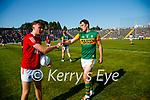 David Moran, Kerry, after the Munster GAA Football Senior Championship Final match between Kerry and Cork at Fitzgerald Stadium in Killarney on Sunday.