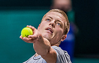 Rotterdam, The Netherlands, 27 Februari 2021, ABNAMRO World Tennis Tournament, Ahoy, Qualyfying match: Tim van Rijthoven (NED)<br /> Photo: www.tennisimages.com/henkkoster
