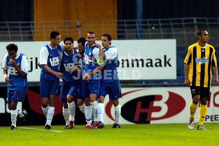 veendam - fc eindhoven jupiler league seizoen 2007-2008 07-09-2007  eindhoven viert de 0-1