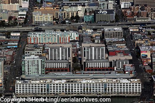 aerial photograph 185 Berry Street San Francisco, California