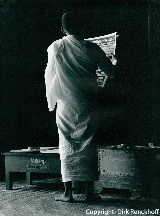 Mönch in Thailand 1972