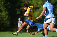 Action from the Tranzit Coachlines 1st XV tournament rugby match between Rongotai College and Napier Boys' High School at Porirua Park in Wellington, New Zealand on Saturday, 15 May 2021. Photo: Dave Lintott / lintottphoto.co.nz