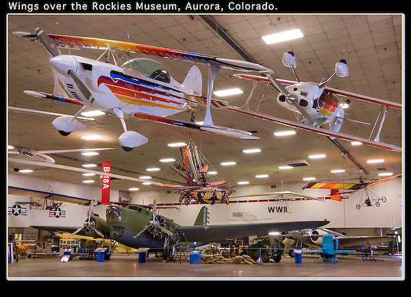 On assignment. Wings Over the Rockies, Aurora, Colorado. .  John offers private photo tours in Denver, Boulder and throughout Colorado. Year-round.
