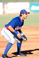 Christian Villanueva - AZLRangers - 2010 Arizona League.Photo by:  Bill Mitchell/Four Seam Images..