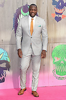 """Adewale Akinnuoye-Agbaje<br /> arrives for the """"Suicide Squad"""" premiere at the Odeon Leicester Square, London.<br /> <br /> <br /> ©Ash Knotek  D3142  03/08/2016"""