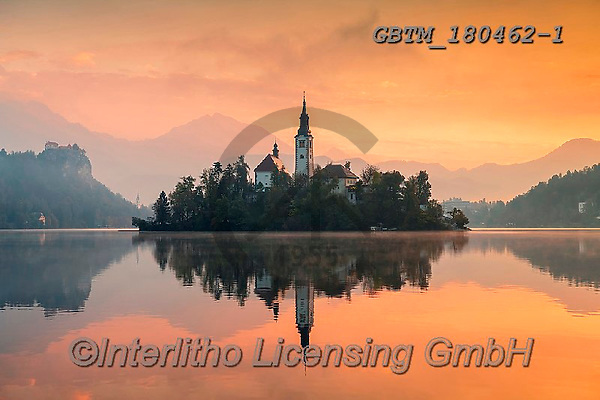 Tom Mackie, LANDSCAPES, LANDSCHAFTEN, PAISAJES, photos,+Assumption of Mary's Pilgrimage Church, Europa, Europe, European, Lake Bled, Slovenia, Tom Mackie, atmosphere, atmospheric, c+hurch, churches, color, colorful, colour, colourful, destination, destinations, dramatic outdoors, horizontal, horizontals, l+andscape, landscapes, mirror image, mood, moody, peace, peaceful, reflect, reflecting, reflection, reflections, scenery, scen+ic, serene, serenity, sunrise, sunrises, sunset, sunsets, time of day, tourist attraction,Assumption of Mary's Pilgrimage Ch+,GBTM180462-1,#l#, EVERYDAY