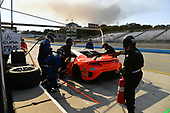 Pirelli World Challenge<br /> Intercontinental GT Challenge California 8 Hours<br /> Mazda Raceway Laguna Seca<br /> Sunday 15 October 2017<br /> Ryan Eversley, Tom Dyer, Dane Cameron, Acura NSX GT3, GT3 Overall pit stop.<br /> World Copyright: Richard Dole<br /> LAT Images<br /> ref: Digital Image RD_PWCLS17_355