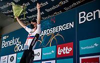 stage winner Matej Mohoric (SVN/Bahrain - Victorious) on the podium<br /> <br /> 17thBenelux Tour 2021 (2.UWT)<br /> (Final) Stage 7: from Namur to Geraardsbergen (178km)<br /> <br /> ©kramon