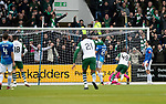 St Johnstone v Celtic…07.10.18…   McDiarmid Park    SPFL<br />James Forrest opens the scoring for Celtic<br />Picture by Graeme Hart. <br />Copyright Perthshire Picture Agency<br />Tel: 01738 623350  Mobile: 07990 594431