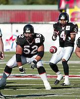 Mike Burns Ottawa Renegades 2003. Photo Scott Grant