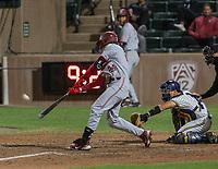 STANFORD, CA - JUNE 7: Nick Brueser during a game between UC Irvine and Stanford Baseball at Sunken Diamond on June 7, 2021 in Stanford, California.