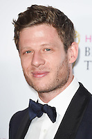 James Norton<br /> in the winners room at the 2016 BAFTA TV Awards, Royal Festival Hall, London<br /> <br /> <br /> ©Ash Knotek  D3115 8/05/2016