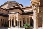 ESP, Spanien, Andalusien, Granada: Alhambra, Patio de los Leones, Details | ESP, Spain, Andalusia, Granada: Alhambra, Patio de los Leones, Details