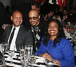 Emil Wilbekin, George Wilson and Cynthia Nixon attend The 2010 SESAC New York Music Awards at IAC Building, New York, 5/12/10