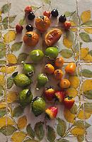 Europe/Italie/Sicile/Palerme : Les pâtes d'amande aux agrumes