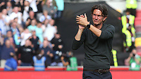 Brentford Manager, Thomas Frank, applauds the home fans at the end of the match during Brentford vs Brighton & Hove Albion, Premier League Football at the Brentford Community Stadium on 11th September 2021