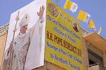 Israel, Galilee,His Holiness Pope Benedict XVI visit to Nazareth