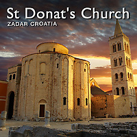 Pictures of Romanesque St Donats Church - Zadar - Croatia -