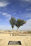Israel, Lower Galilee, Mount Precipice overlooking Nazareth