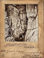 Europe/Europe/France/Midi-Pyrénées/46/Lot/Padirac: Gouffre de Padirac - Album de photographies du Gouffre de Padirac - d'Edouard-Alfred Martel  Années 1890 à 1899 - Collection Société du Gouffre de Padirac  -Reproduction - Autorisation nécessaire