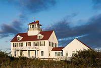 Coast guard station, Coast Guard Beach, Cape Cod National Seashore, Easham, Cape Cod, Massachusetts, USA.