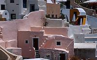 Griechenland, Insel Santorin (Santorini), in Oia