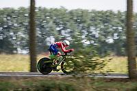 Nicolas Gojkovic (CRO)<br /> <br /> Junior Men Individual Time Trial from Knokke-Heist to Bruges (22.3 km)<br /> <br /> UCI Road World Championships - Flanders Belgium 2021<br /> <br /> ©kramon